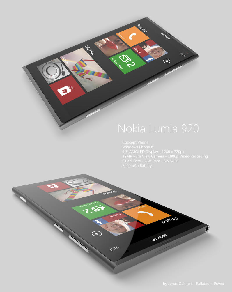 Nokia Lumia 920 Windows Phone 8 by Jonas-Daehnert