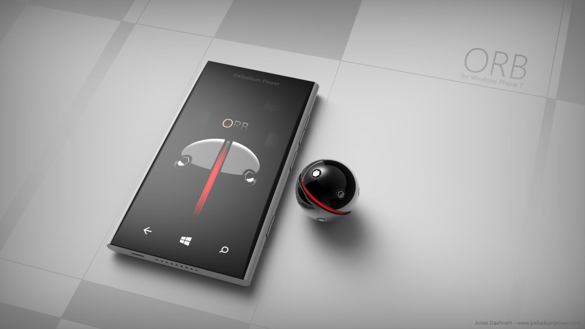 ORB for Windows Phone 7 Wallpaper by Jonas-Daehnert