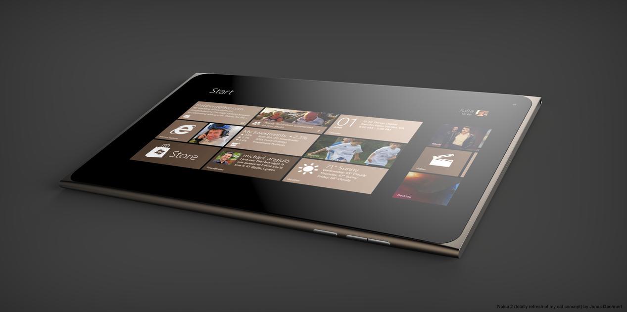 Nokia 2 Concept Tablet by Jonas-Daehnert