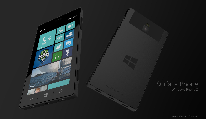 Microsoft Surface Phone 8 by Jonas-Daehnert