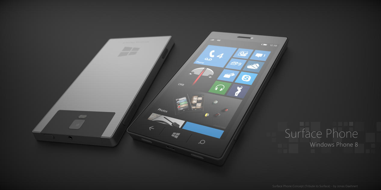 Microsoft Surface Phone 8 by JonDae
