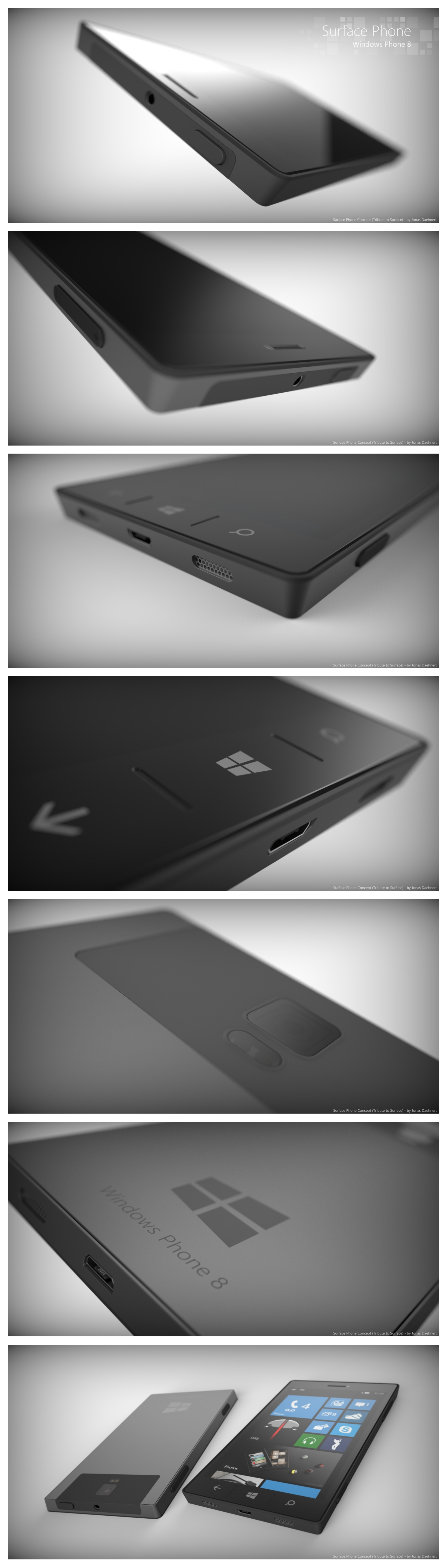 Microsoft Surface Phone Details by JonDae