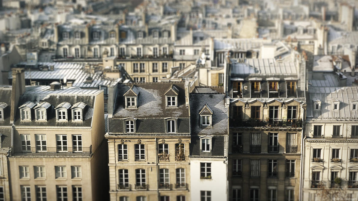 Little Paris by Jonas-Daehnert