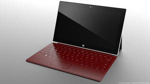 Surface Wine Red