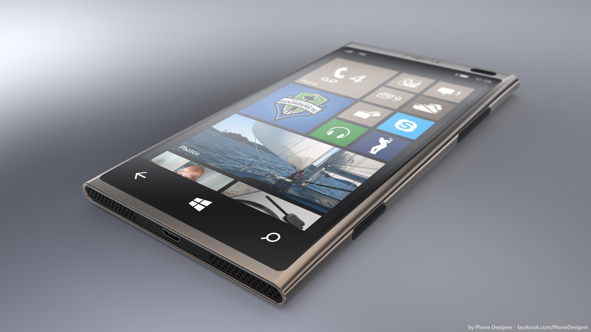 Nokia Lumia 1001 Concept by Jonas-Daehnert
