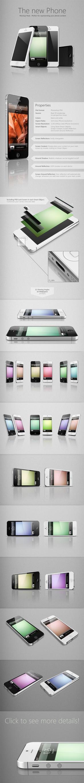 iPhone 5 MockUp by JonDae