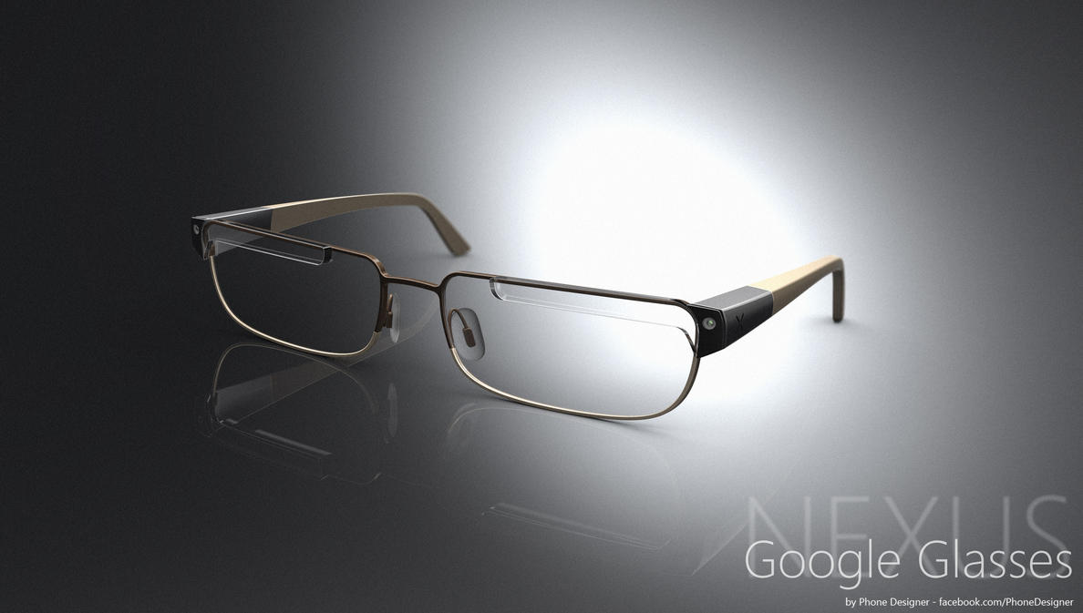 Futuristic Google Nexus Glasses Concept by Jonas-Daehnert
