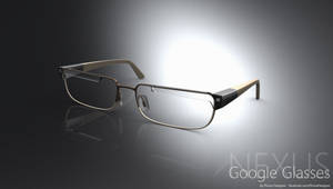 Futuristic Google Nexus Glasses Concept by JonDae