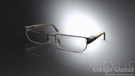 Futuristic Google Nexus Glasses Concept