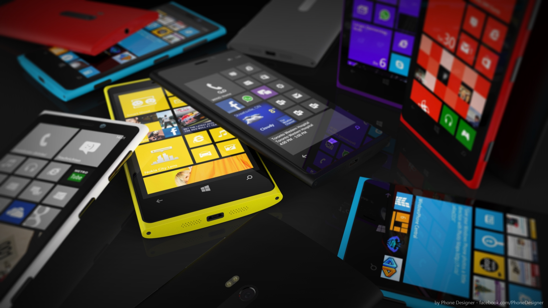 Bunch of Lumias by Jonas-Daehnert
