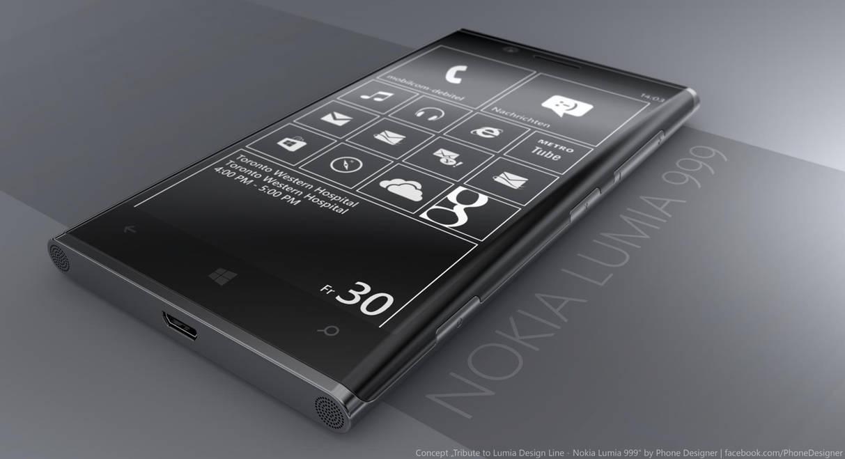 Nokia Lumia 999 by JonDae
