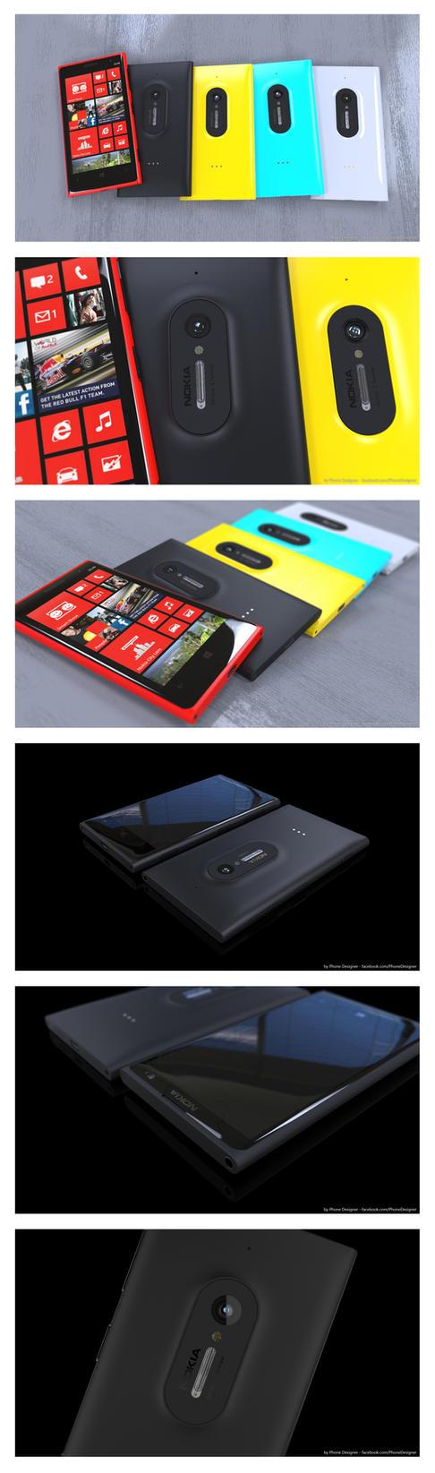 Nokia Lumia EOS (Anti Leak Concept) by Jonas-Daehnert