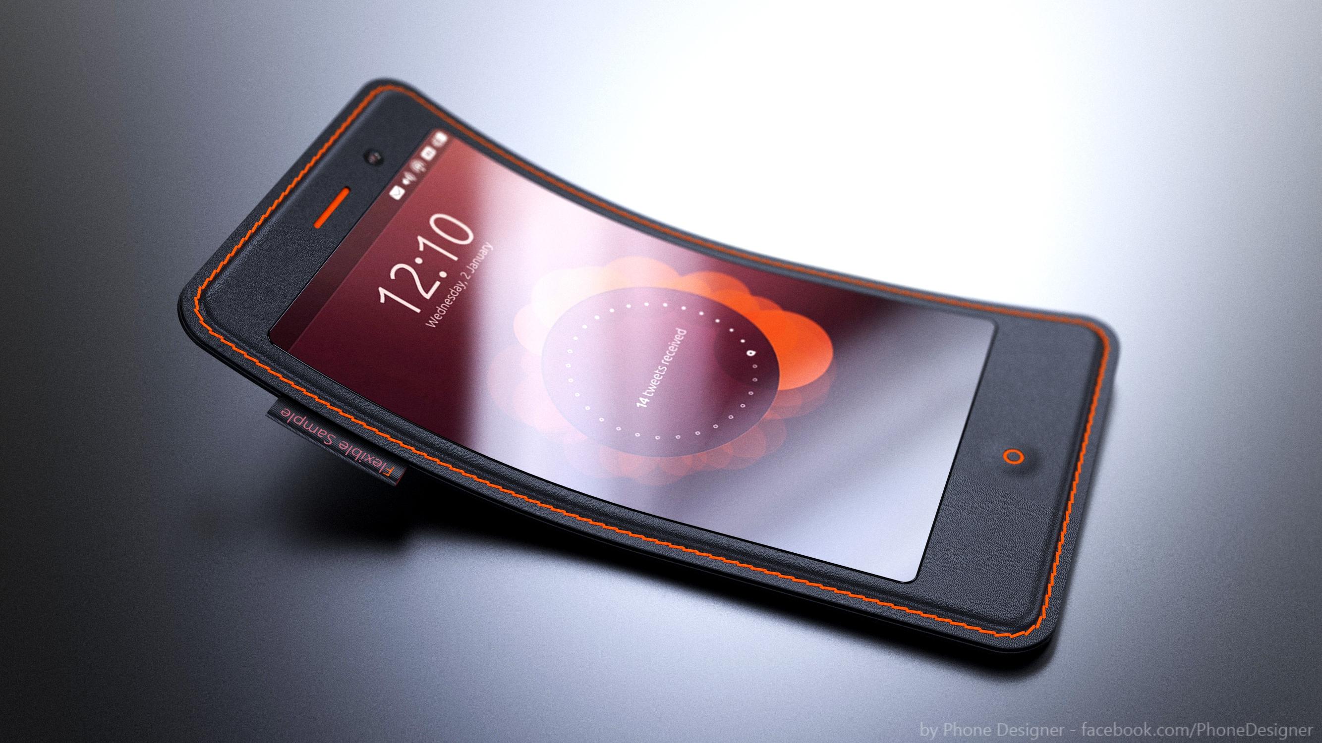 Flexible Smartphone by Jonas-Daehnert