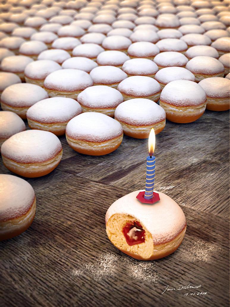 Doughnut Army by Jonas-Daehnert
