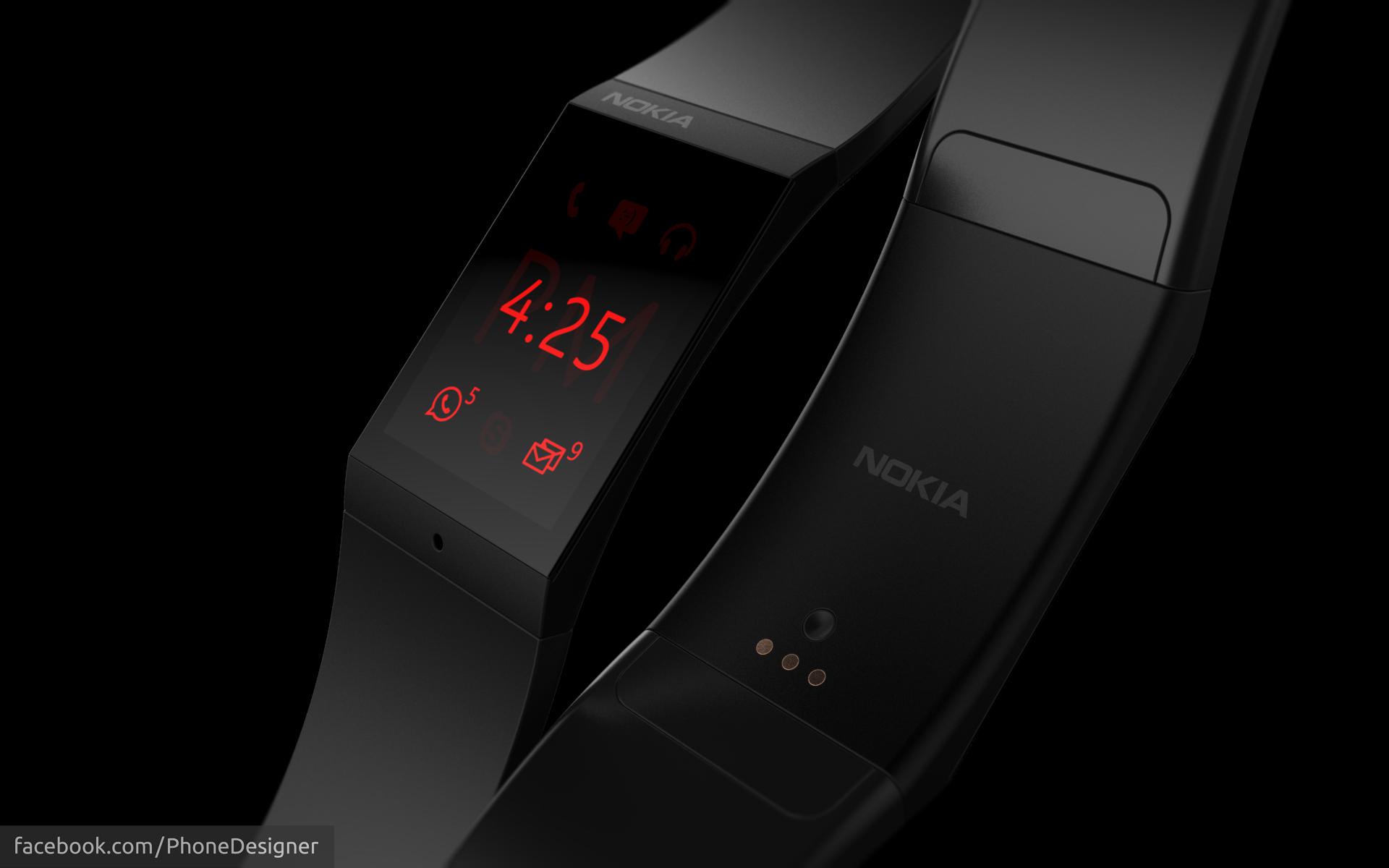 Nokia Smartwatch by Jonas-Daehnert