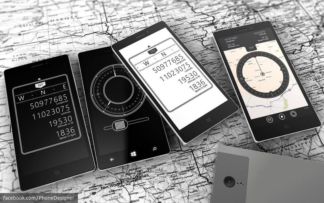 Compasses by Jonas-Daehnert