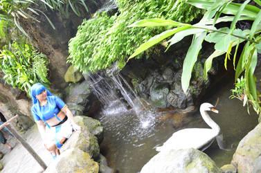 Umi Ryuuzaki: By the Swan Lake by Lalita-Zilli
