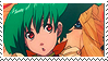 Stamp: Ranka Lee's Flying Hair by Tatumuu