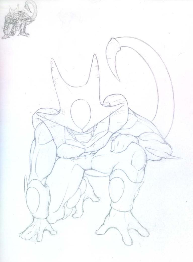 Dbz Cooler Sketch By Nefosik On Deviantart