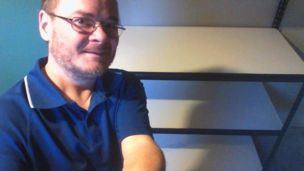 shelving selfie by legochambersecrets