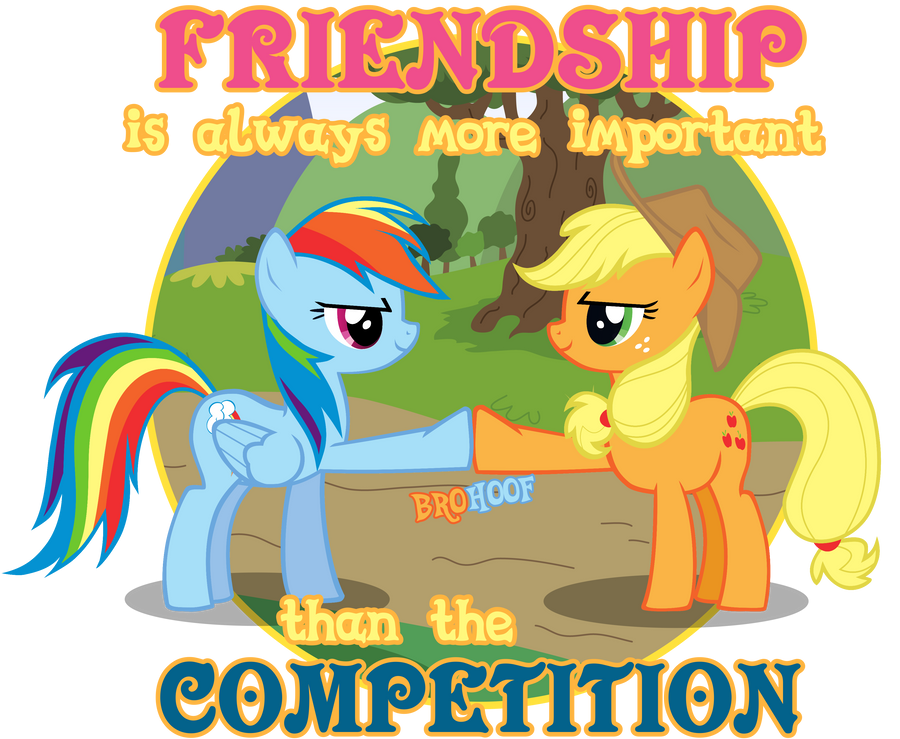 Friendship Is Always More Important Tee Art by Alrow
