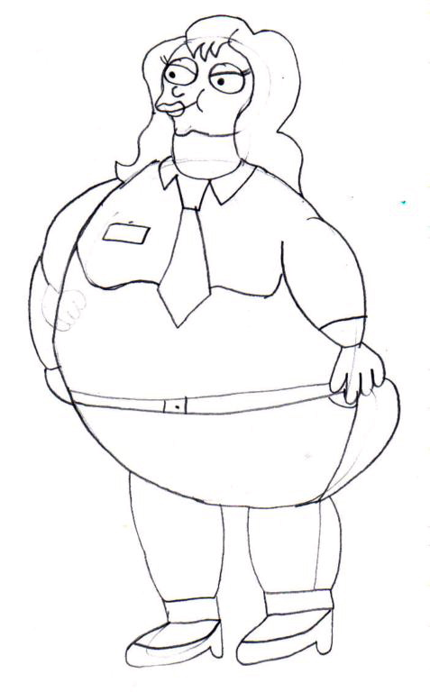 fat mindy by chipmunk123