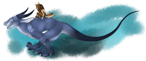 Ice and Assel by AsselFurry