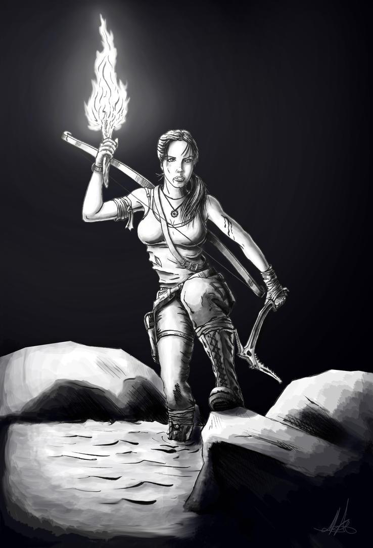 Lara Croft Survivor by MisiakasVasileios