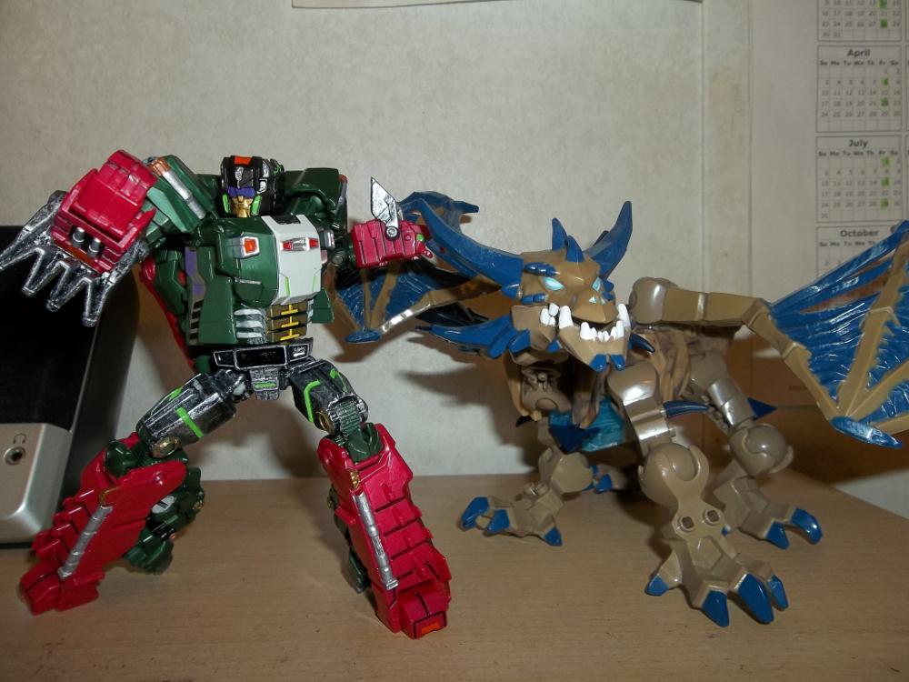 Skullcruncher Befriends Undead Dragon by Zigholtul88
