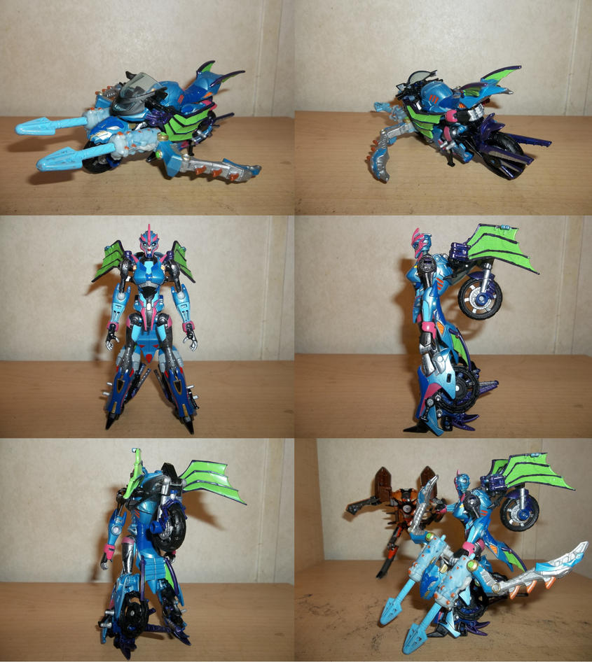 Custom Prime Beast Hunters Arcee V2 by Zigholtul88