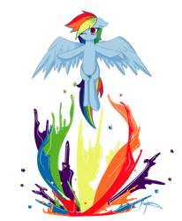Rainbow Dash: Spectrum by Xonitum