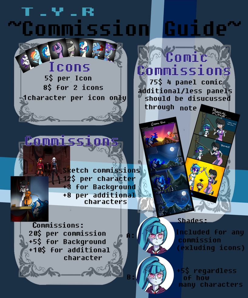~Commission Guide~ by TheYoungReaper