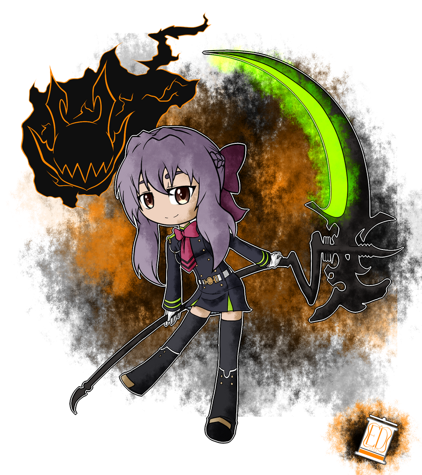 Shinoa Hiragi by TheYoungReaper