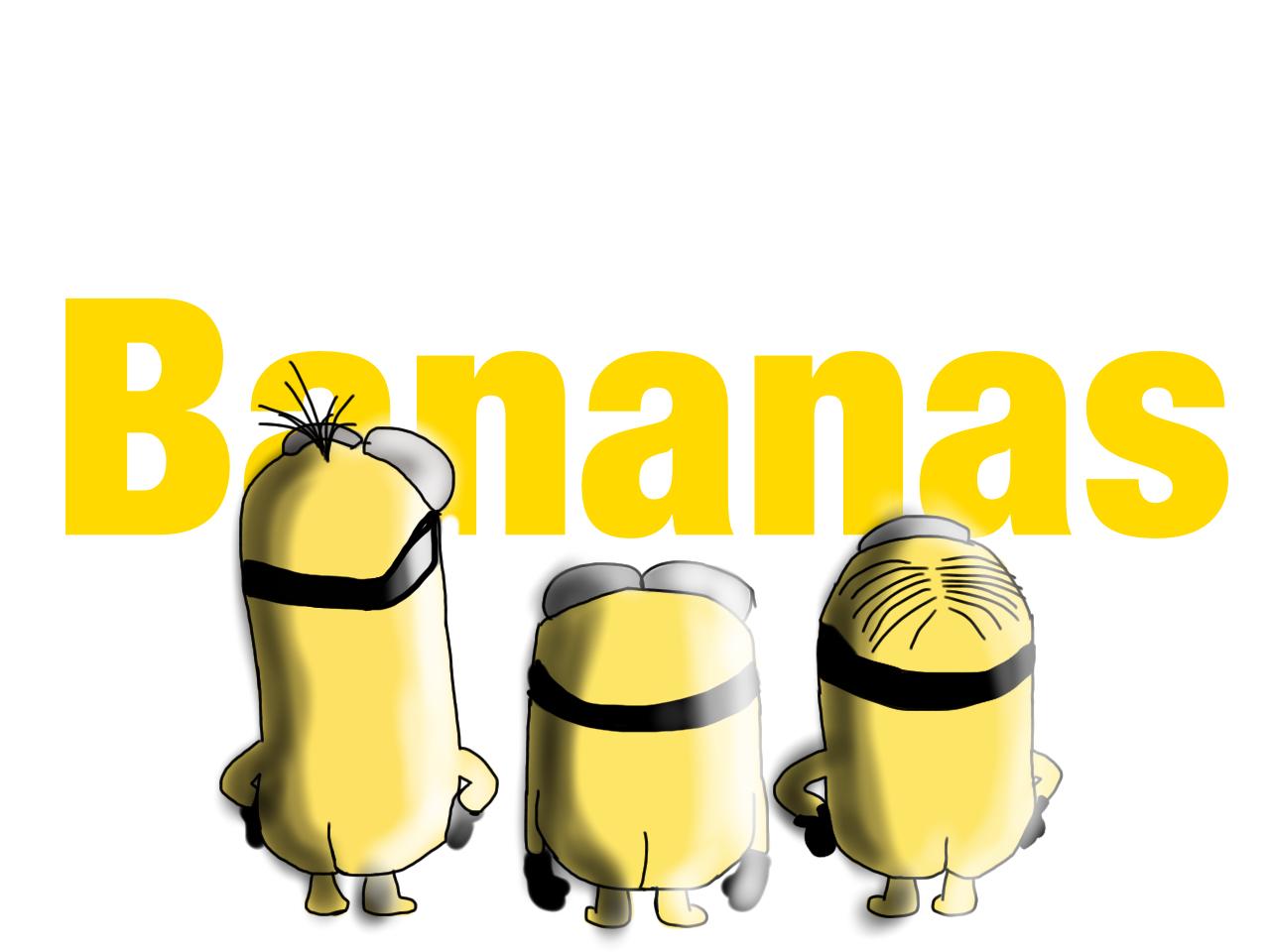 Minions Bananas by MoreFox on DeviantArt