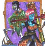 Suni and Eisle by Radarai