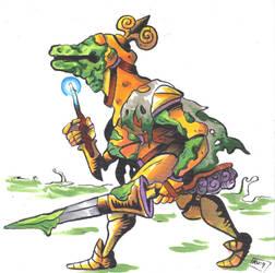 Swamp Knight by Radarai