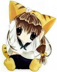 chibi girl~ by otakumanga123