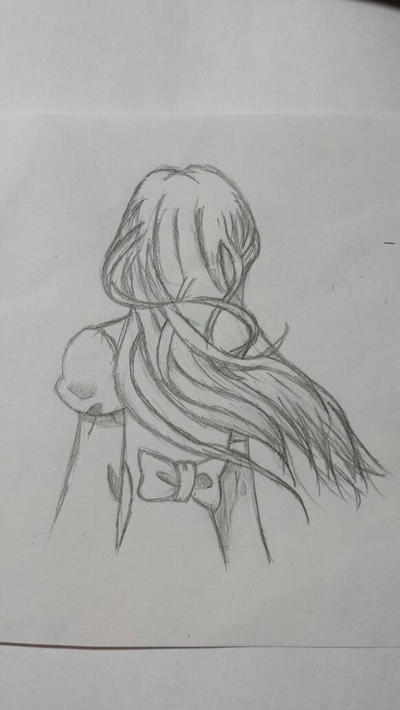 Random girl~~~ by otakumanga123