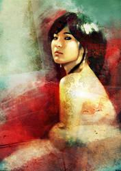 Korean girl by Cok3ster