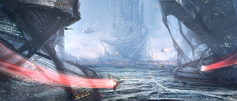 Future City Concept by Cok3ster