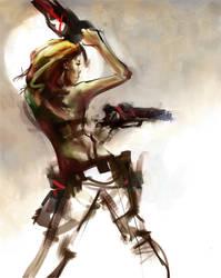 gunslinger by Cok3ster