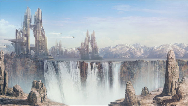 Matte Painting - Sci-Fi KL 2 by Cok3ster