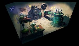 Mad Scientist Laboratory by Cok3ster