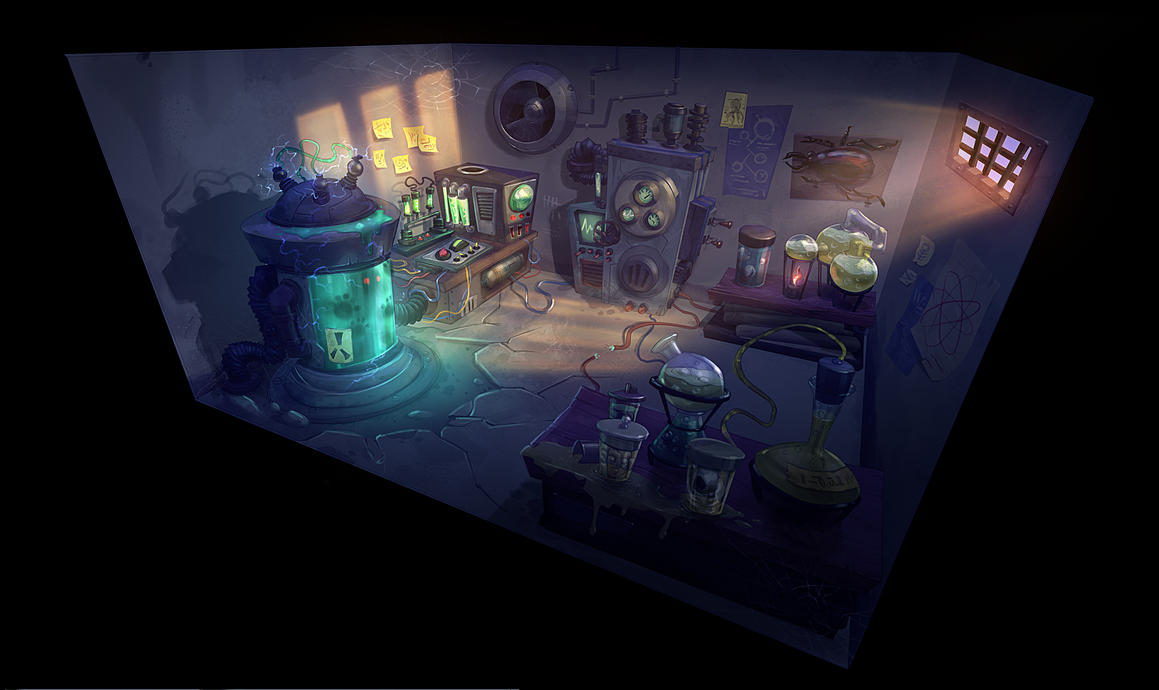 Mad Scientist Laboratory 2 by Cok3ster