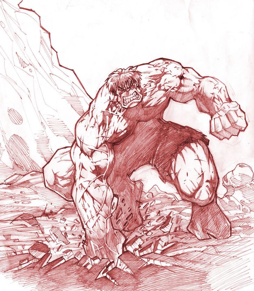 The Hulk by A-Farsy