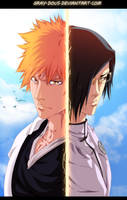 Bleach 640 Coloring - Speed Art On Youtube by Gray-Dous