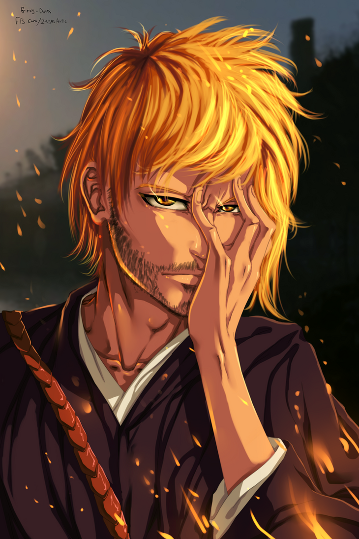 Bleach Kurosaki Ichigo ( 10 years later ) by Gray-Dous