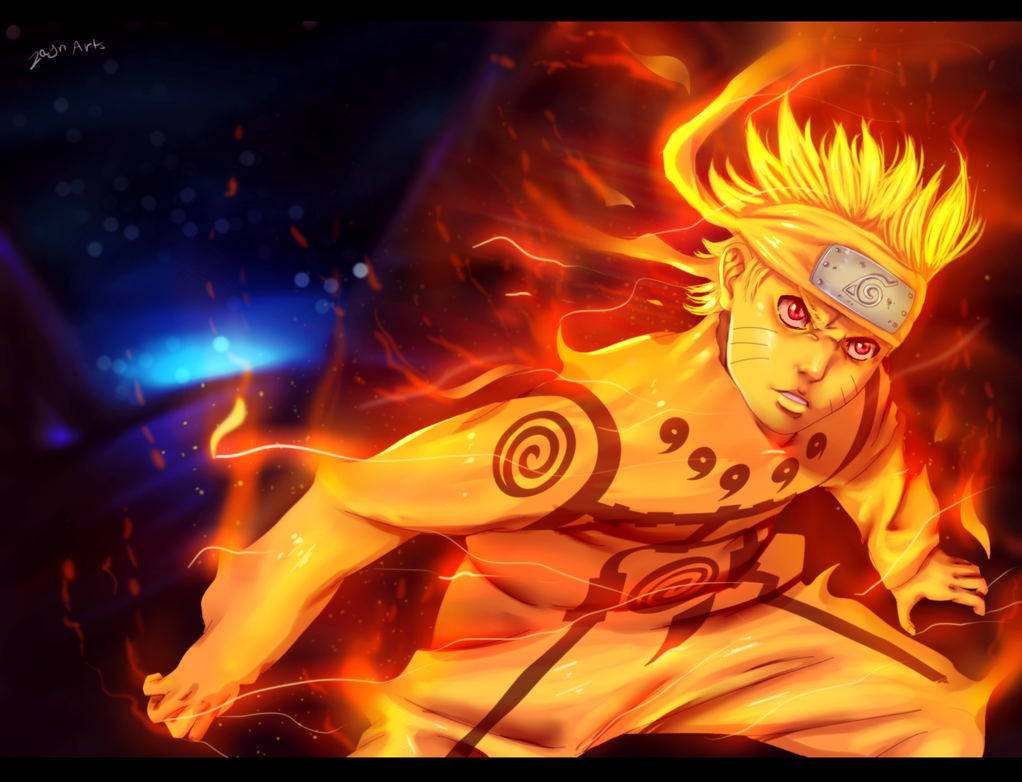 Uzumaki Naruto - kyuubi Mode by Gray-Dous