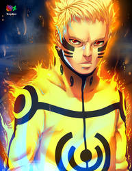 Uzumaki Naruto - Digital Drawing