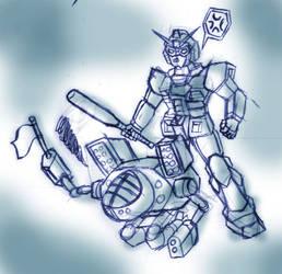 Gundam VS Battletech by Tekk0